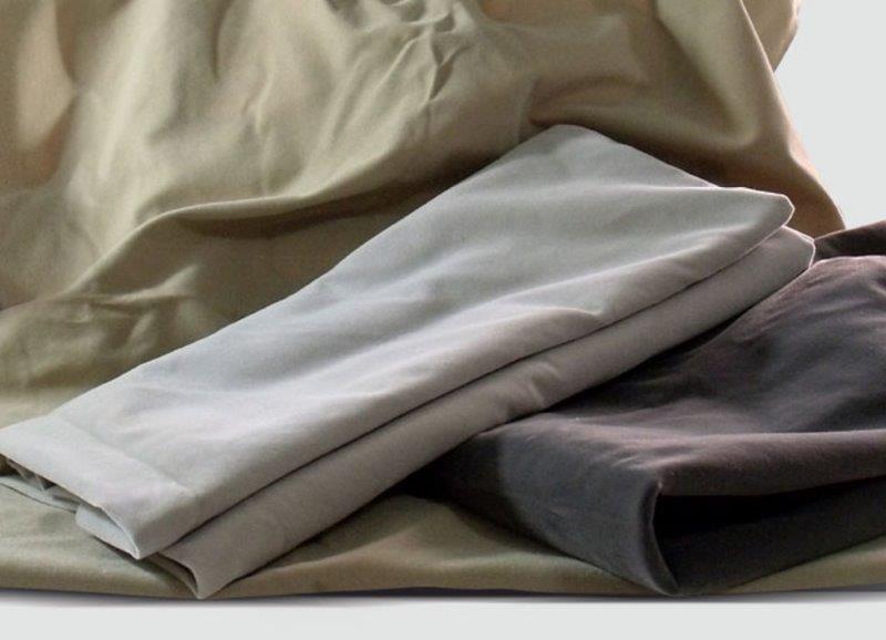 Tecido algodão flocado